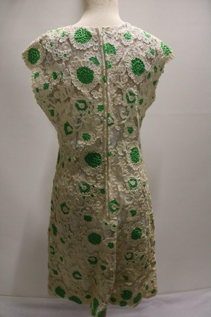 1960's Ribbon Dress by Esther Pomerantz fashions - 4