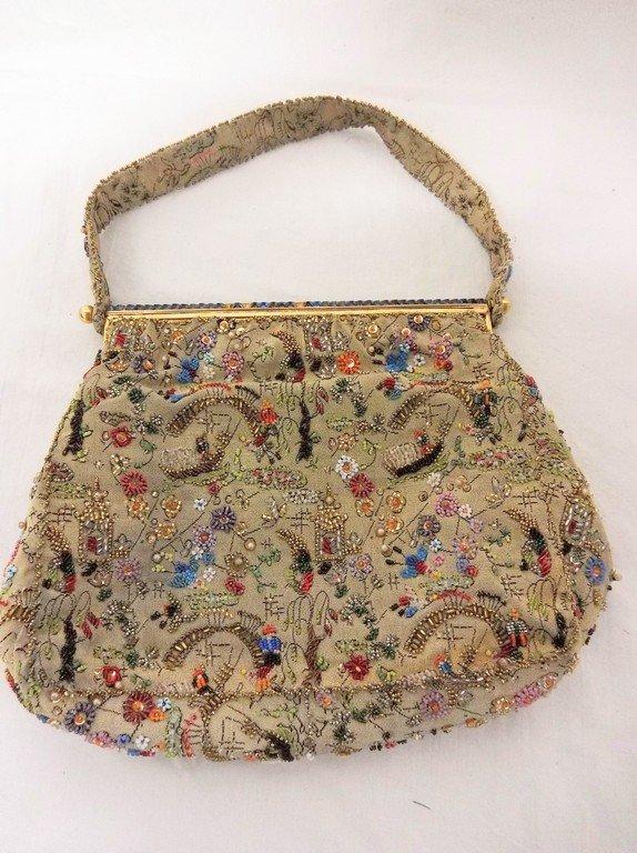 Fabulous Vintage Beaded Purse - 3