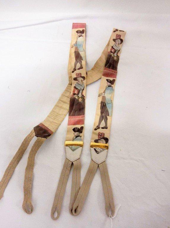 Victorian Silk Suspenders