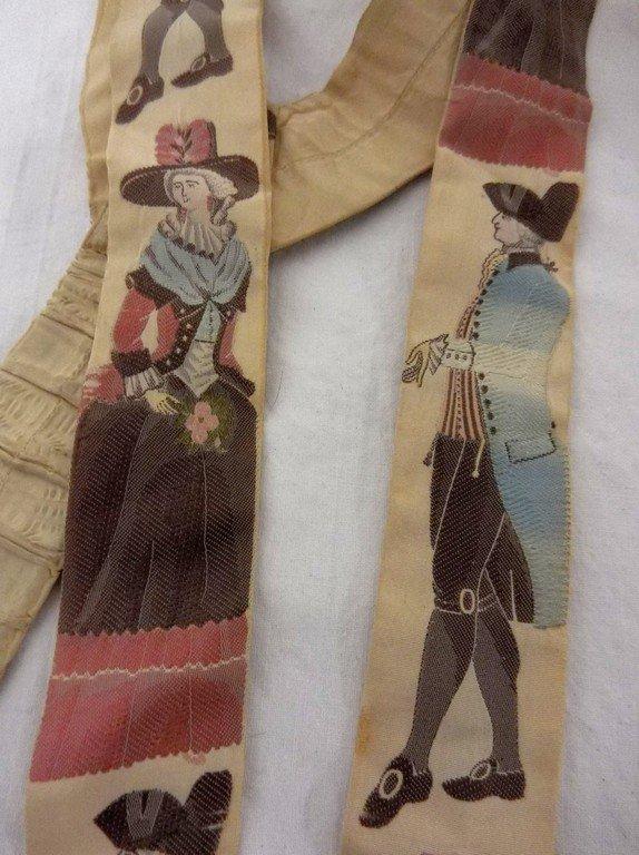 Victorian Silk Suspenders - 4