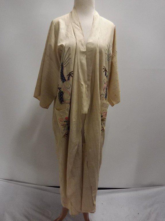 1920's Silk Embroidered Kimono