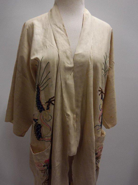 1920's Silk Embroidered Kimono - 2