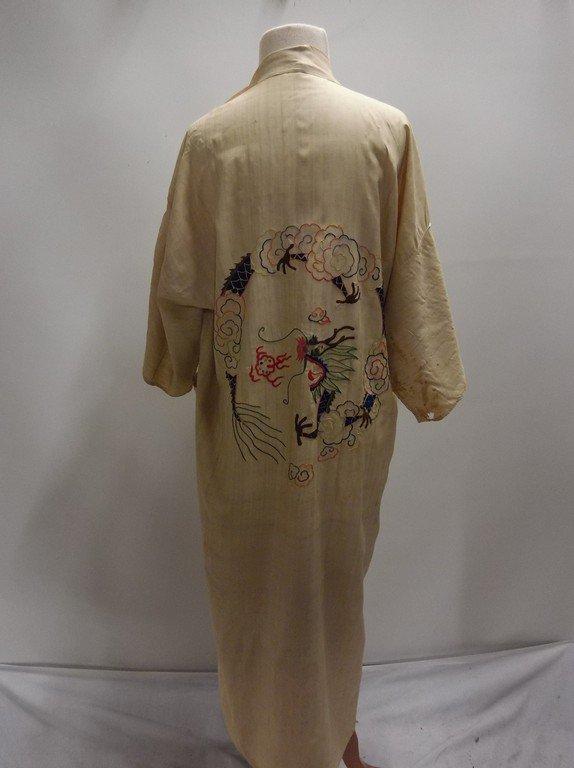 1920's Silk Embroidered Kimono - 5