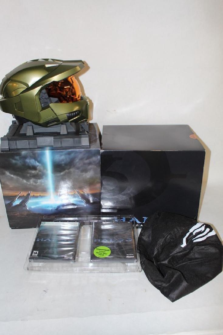 Halo 3 Legendary Edition w/ Helmet, NIB for launch on