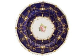 SET OF EIGHT EARLY NINETEENTH-CENTURY DERBY AND  PARCEL