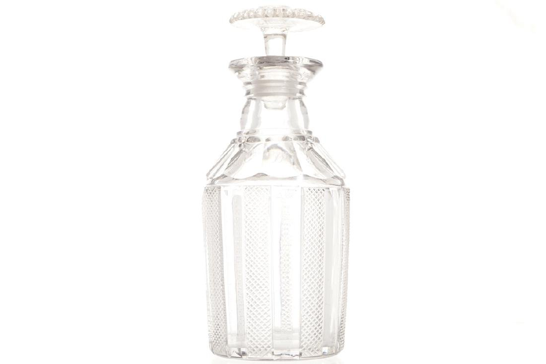 EARLY NINETEENTH-CENTURY WATERFORD DECANTER