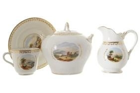 EARLY NINETEENTH-CENTURY COPELAND PORCELAIN TEA AND