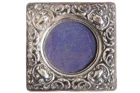 ART NOUVEAU STERLING SILVER PHOTO FRAME