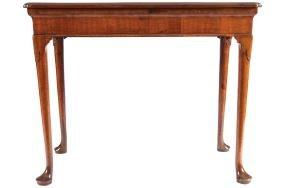 GEORGE II WALNUT SIDE TABLE, CIRCA 1760