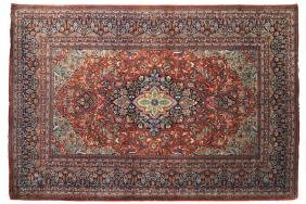 WEST PERSIAN KASHAN RUG