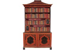 NINETEENTH-CENTURY PERIOD CHINESE CHIPPENDALE RED