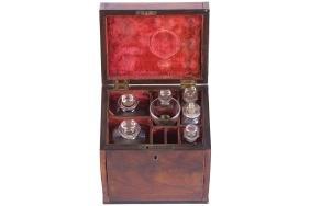 GEORGE III PERIOD APOTHECARY BOX, CIRCA 1780