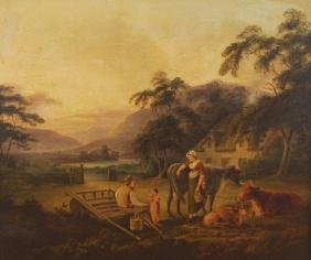 JOHN GEORGE MULVANY, RHA (IRISH, C.1766-1838)