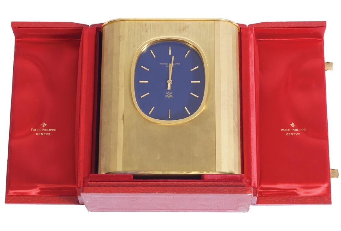 CASED PATEK PHILLIPE SOLAR CLOCK
