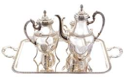 NEOCLASSICAL TEA AND COFFEE SERVICE
