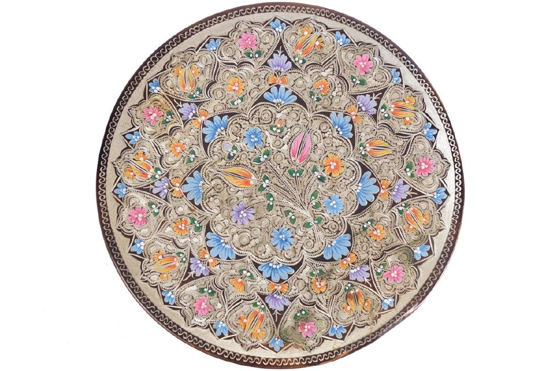 ENAMELLED PERSIAN CHARGER