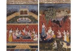 INDO-PERSIAN SCHOOL, EIGHTEENTH-CENTURY