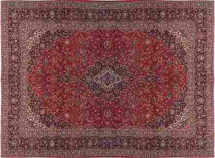 KASHAN CARPET CIRCA 1940 WEST PERSIA