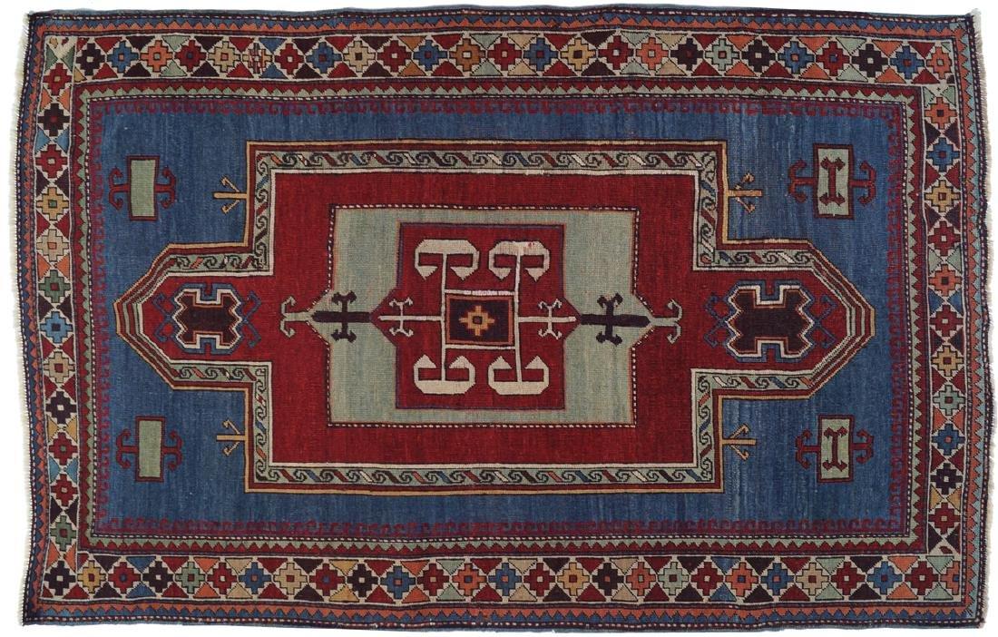 CAUCASIAN KAZAKH RUG, NINETEENTH-CENTURY, SOUTHEAST