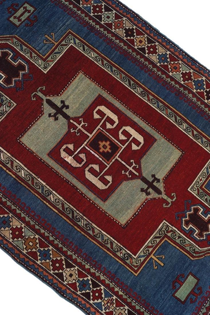 CAUCASIAN KAZAKH RUG, NINETEENTH-CENTURY, SOUTHEAST - 2