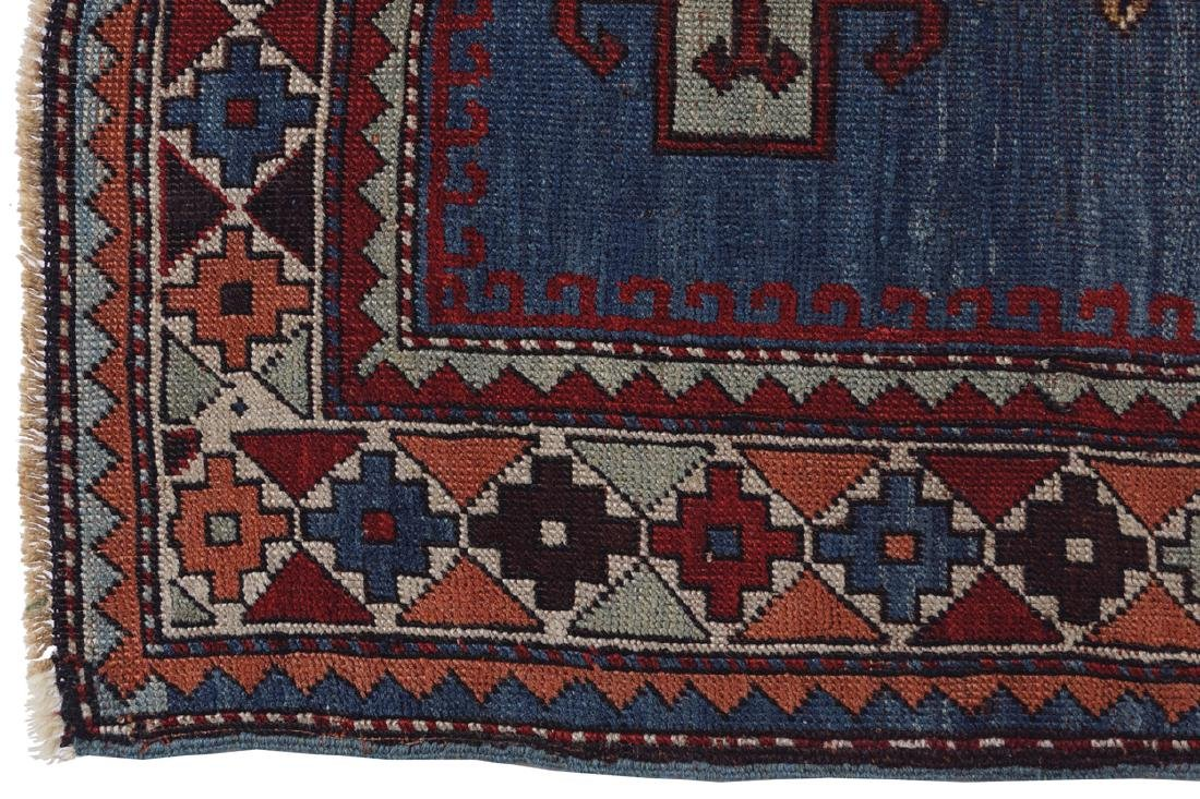 CAUCASIAN KAZAKH RUG, NINETEENTH-CENTURY, SOUTHEAST - 3