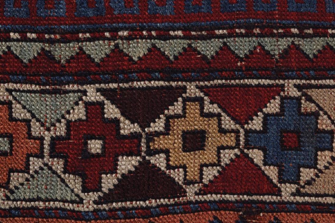 CAUCASIAN KAZAKH RUG, NINETEENTH-CENTURY, SOUTHEAST - 4