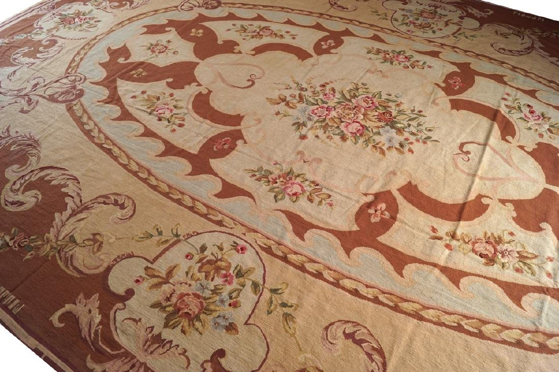 AUBUSSON CARPET, CIRCA 1930 - 3