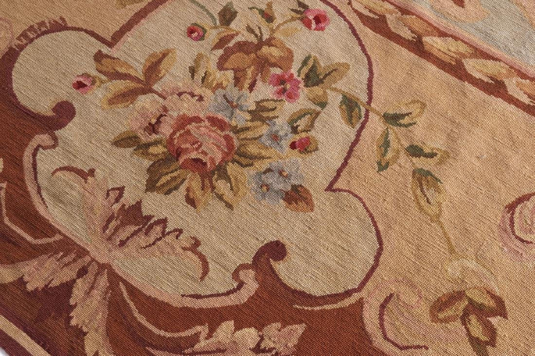 AUBUSSON CARPET, CIRCA 1930 - 4