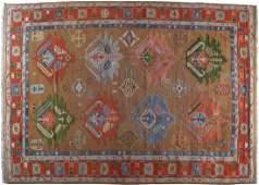 HANDWOVEN TURKISH CARPET CIRCA 1940