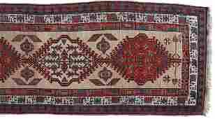KARDJAR RUNNER CIRCA 1890 NORTHWEST PERSIA