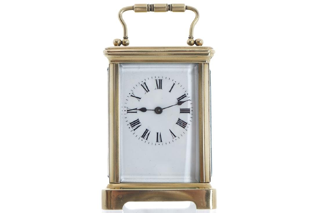 NINETEENTH-CENTURY CARRIAGE CLOCK