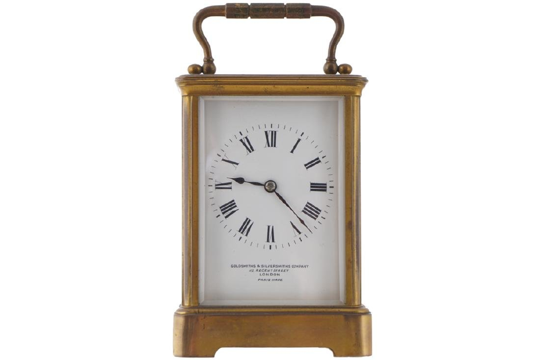 NINETEENTH-CENTURY CARRIAGE CLOCK