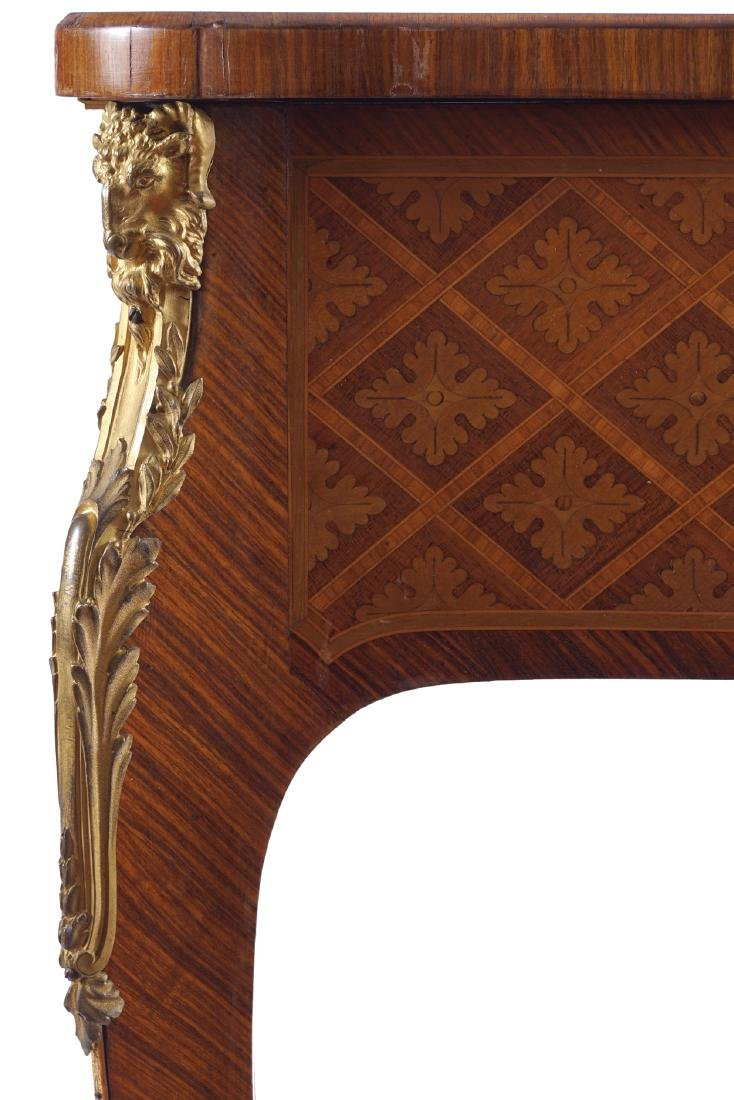 LATE NINETEENTH-CENTURY FRENCH KINGWOOD AND PARQUETRY - 2