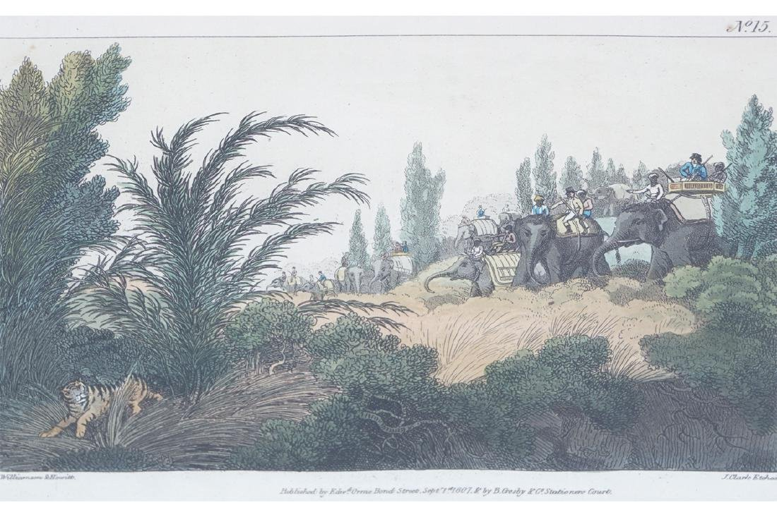 SET OF FOUR PRINTS, NINETEENTH-CENTURY