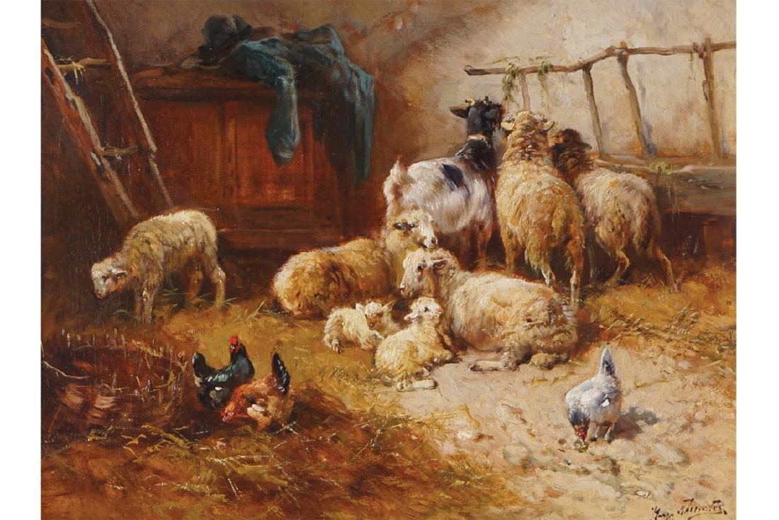 HENRI SCHOUTEN (BELGIAN, 1864-1927)