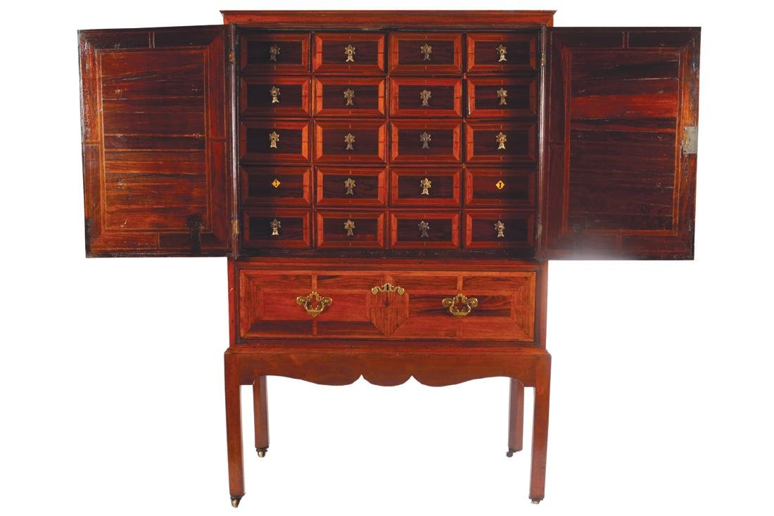 EIGHTEENTH-CENTURY PERIOD ROSEWOOD SPECIMEN
