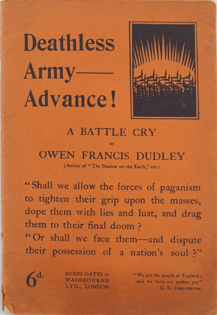 OWEN FRANCIS DUDLEY (1882- 1852]