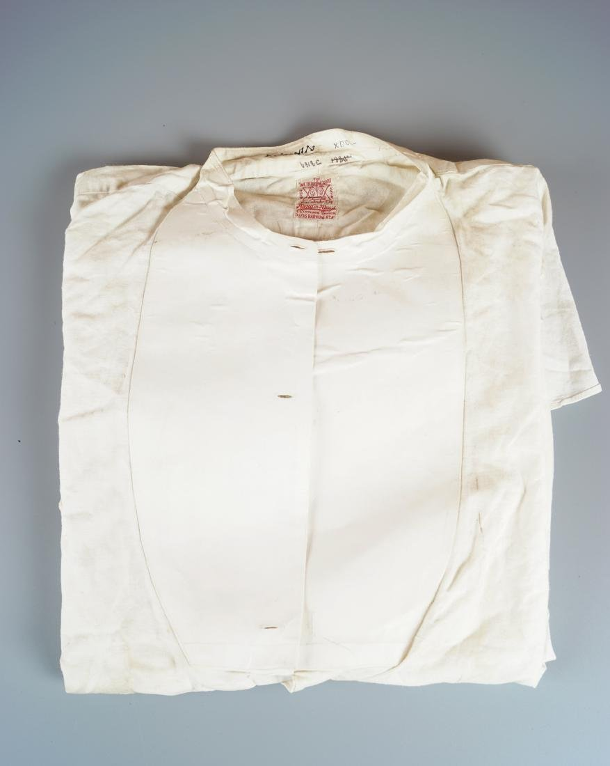 THE METROPOLE LINEN SHIRT FROM THE WARDROBE OF GENERAL