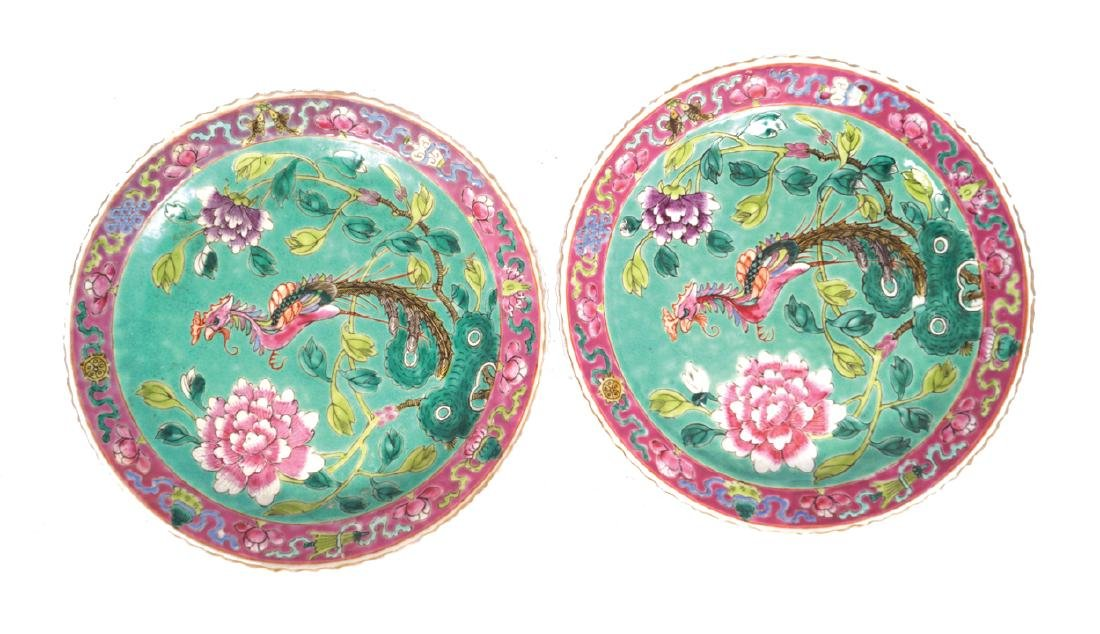 PAIR OF NINETEENTH-CENTURY CHINESE NYONYA STRAITS