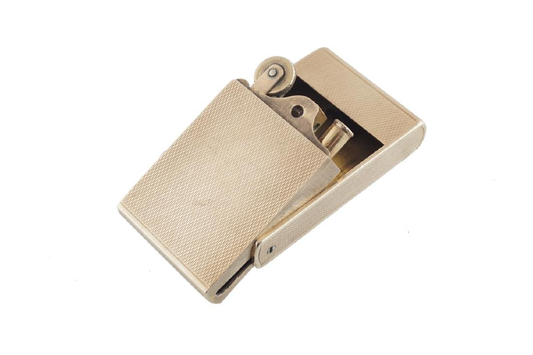 ASPREY 9 CT. GOLD CIGARETTE LIGHTER - 2