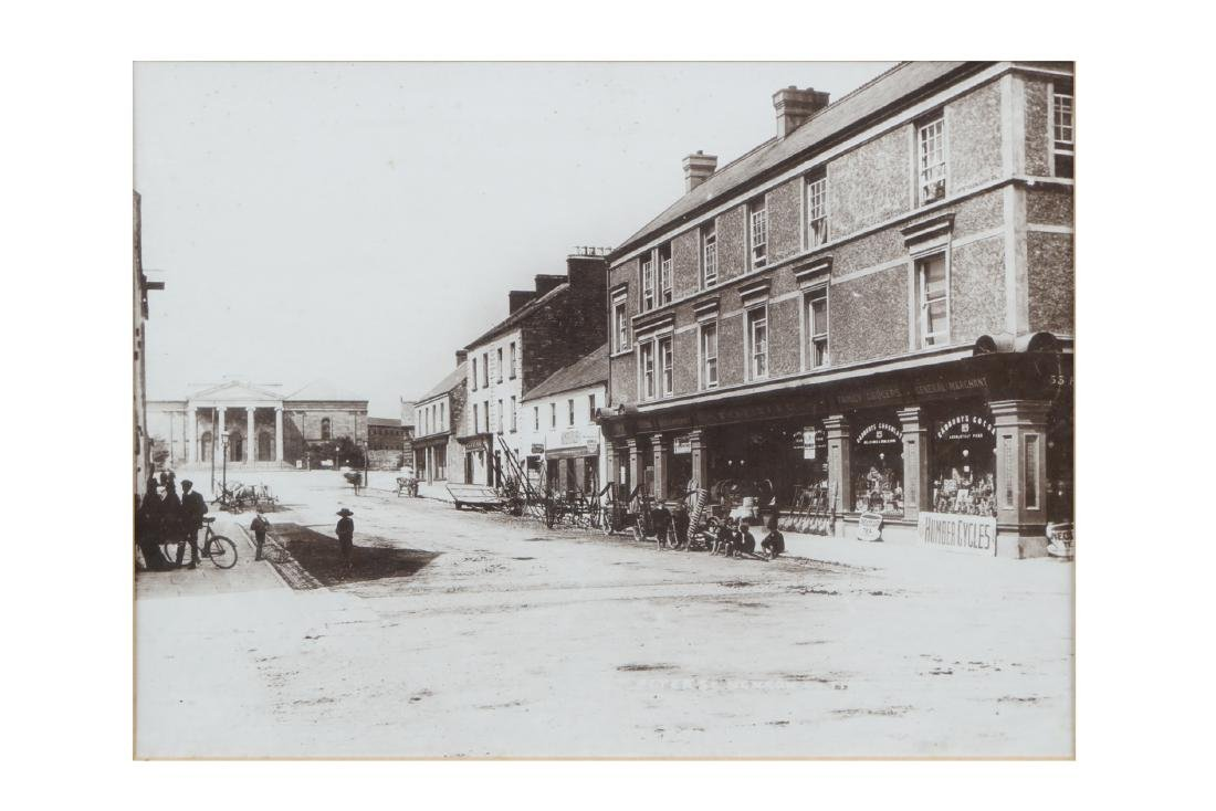 TWO PHOTOGRAPHS OF NENAGH,