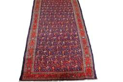 ANTIQUE MALAYER RUNNER NORTH WEST PERSIAN CIRCA 1880