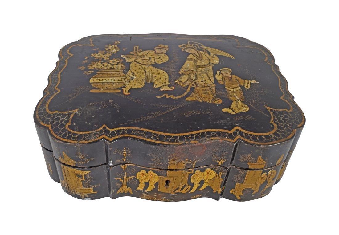 NINETEENTH-CENTURY JAPANESE JEWELLERY BOX