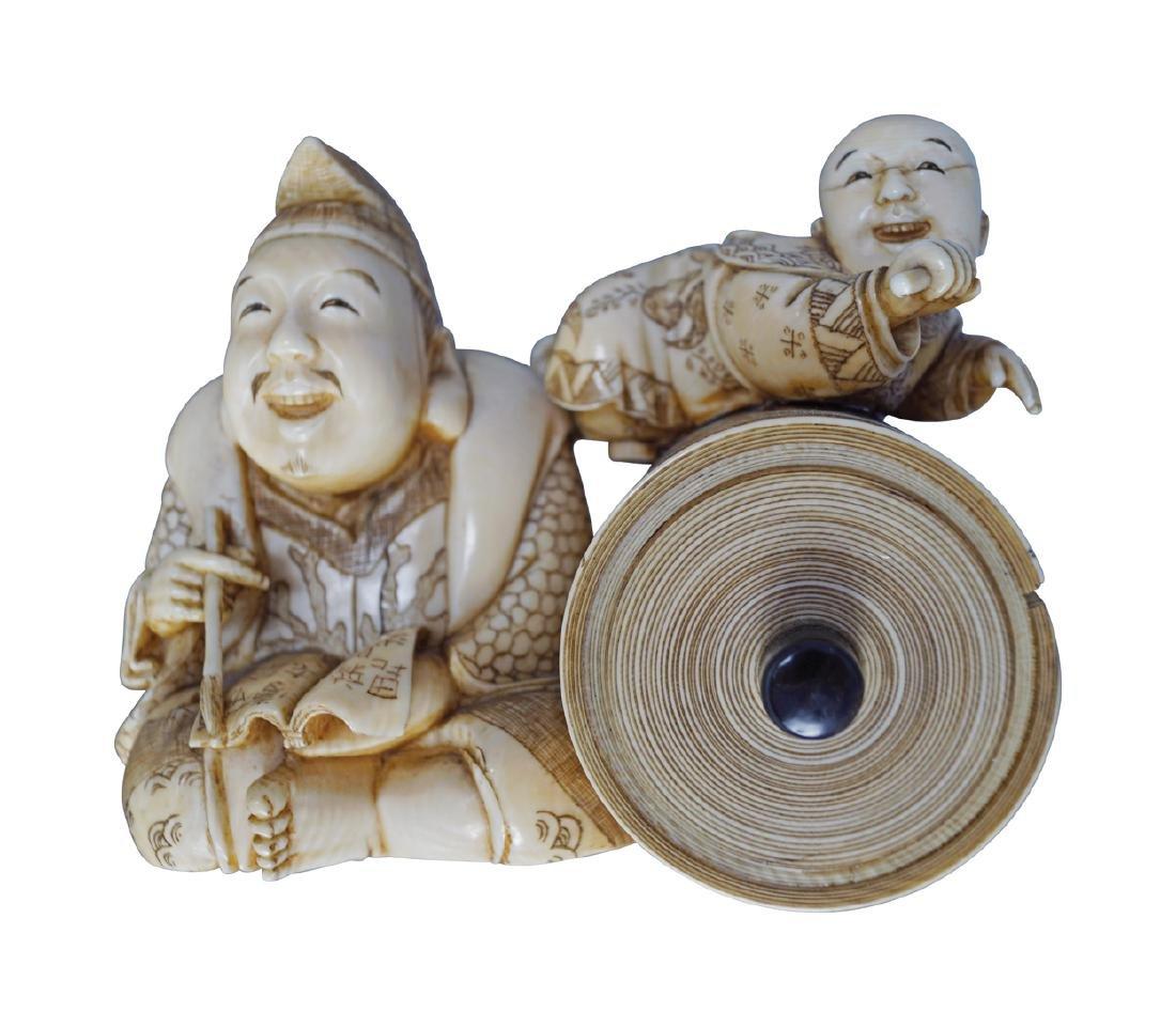 NINETEENTH-CENTURY JAPANESE OKIMONO - 2