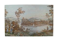 LARGE LATE NINETEENTH-CENTURY TAPESTRY