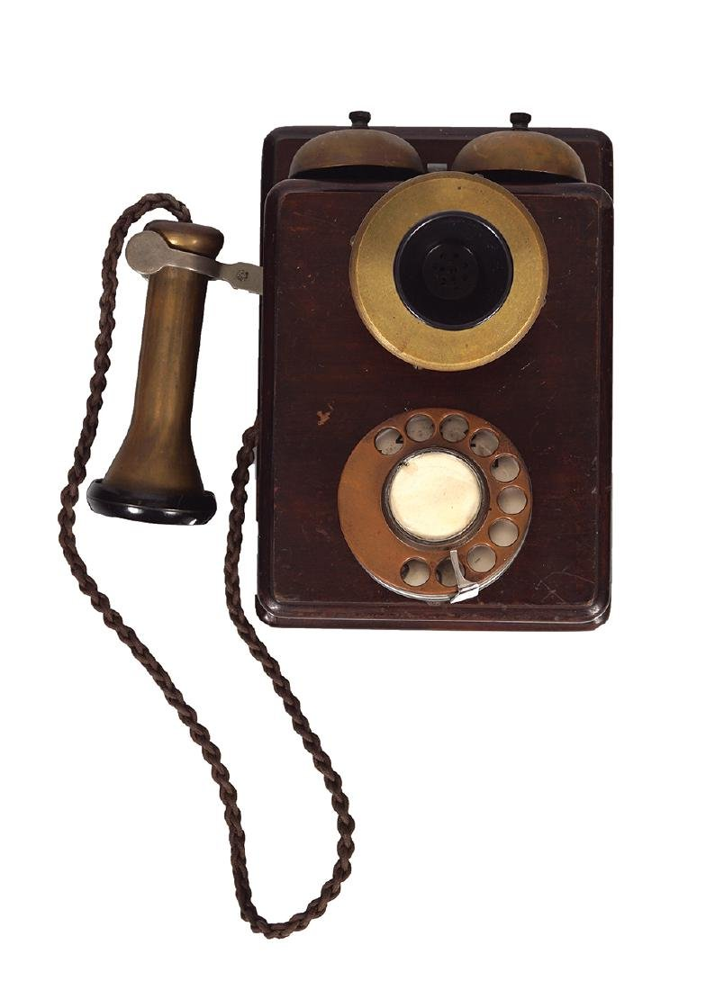 VINTAGE WALL MOUNTED TELEPHONE