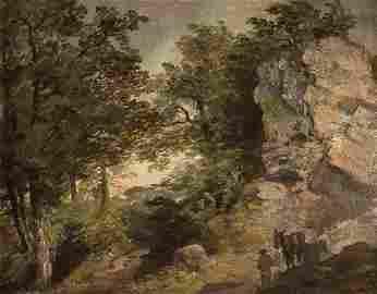 CIRCLE OF THOMAS GAINSBOROUGH (1727-1788)