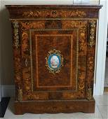 PAIR OF 19TH-CENTURY WALNUT AND MARQUETRY CABINETS
