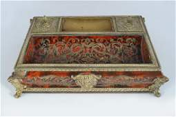 BUHL TORTOISESHELL CENTRA PARTIE PEN INK STAND