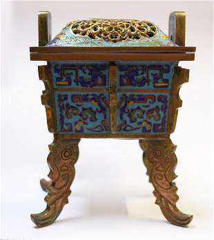 CHINESE QING PERIOD CENSER